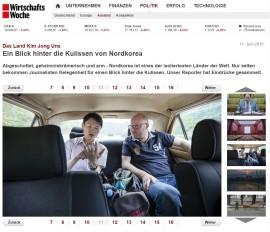 WirtschaftsWoche Willershausen berichtet über seine Reise mit Ko-Vorsitzenden Koschyk nach Nordkorea