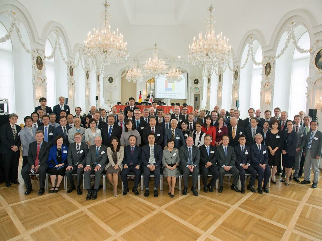 Deutsch-Koreanisches Forum, Barocksaal, 16.07.2015