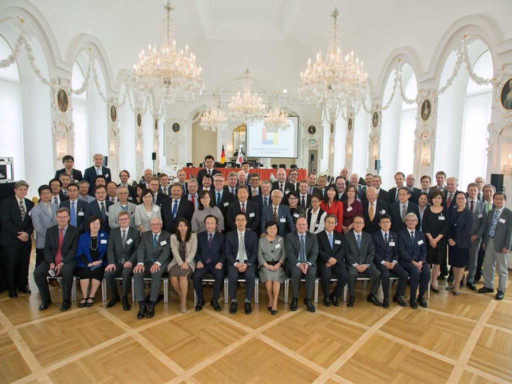 Deutsch-Koreanisches Forum, Barocksaal, 16.07.2015