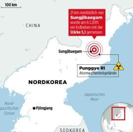 Nordkorea Atomtest